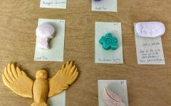 Soap carving project done in English class