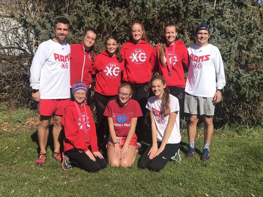Girls XC places at State