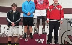 Wrestlers place at North Linn Meet