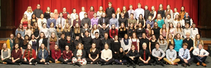 The Dubuque Senior Speech Team includes 94 students performing in 30 different groups