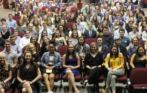 94 students inducted into National Honor Society