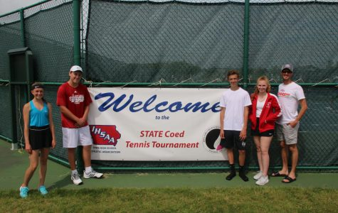 Rams participate in State Co-Ed Tennis tournament