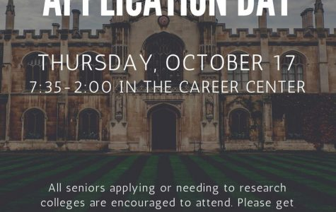 College Application Campaign to be held October 17th