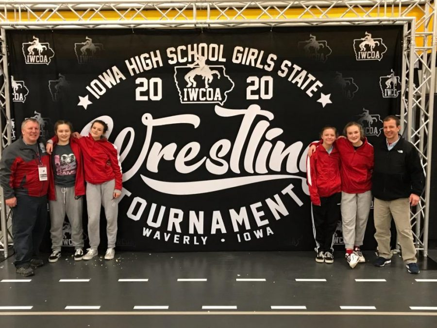 Girls' wrestling heads to state