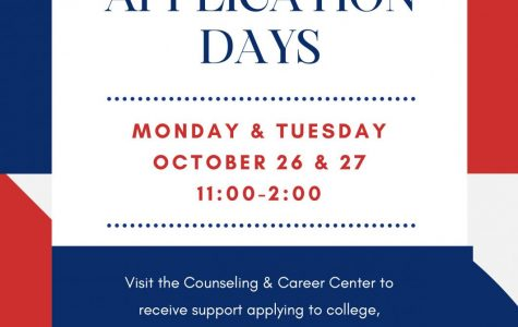 College Application Days - October 26-27
