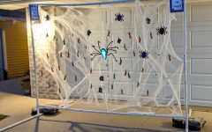The spider web candy handing out method devised by the husband of one DSHS teacher
