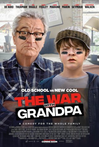 "Official poster for the 2020 film, ""The War with Grandpa"""