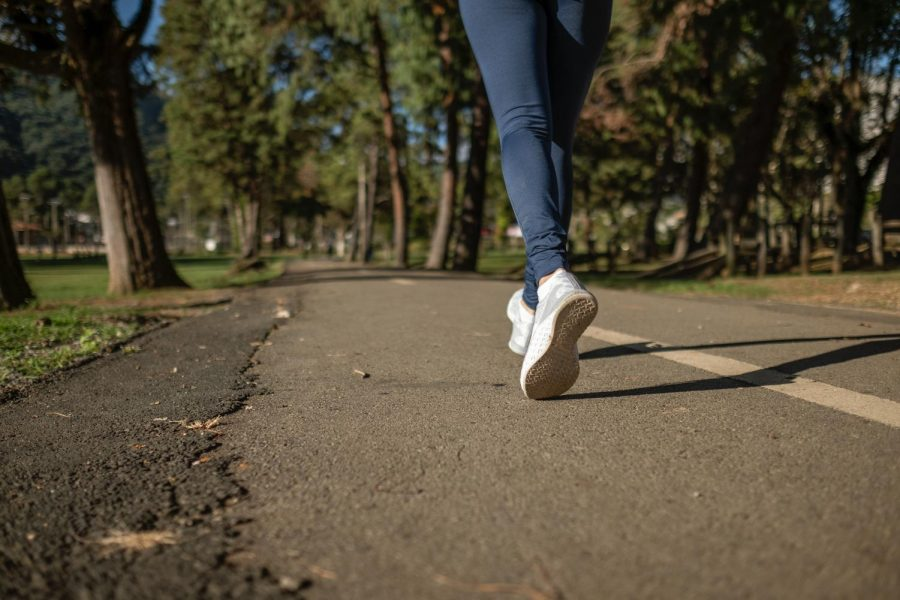 Taking+a+walk+is+one+way+experts+recommend+to+destress.+If+you+are+worried+about+getting+%22stuck+inside+your+own+head%2C%22+listen+to+music+while+you+walk.